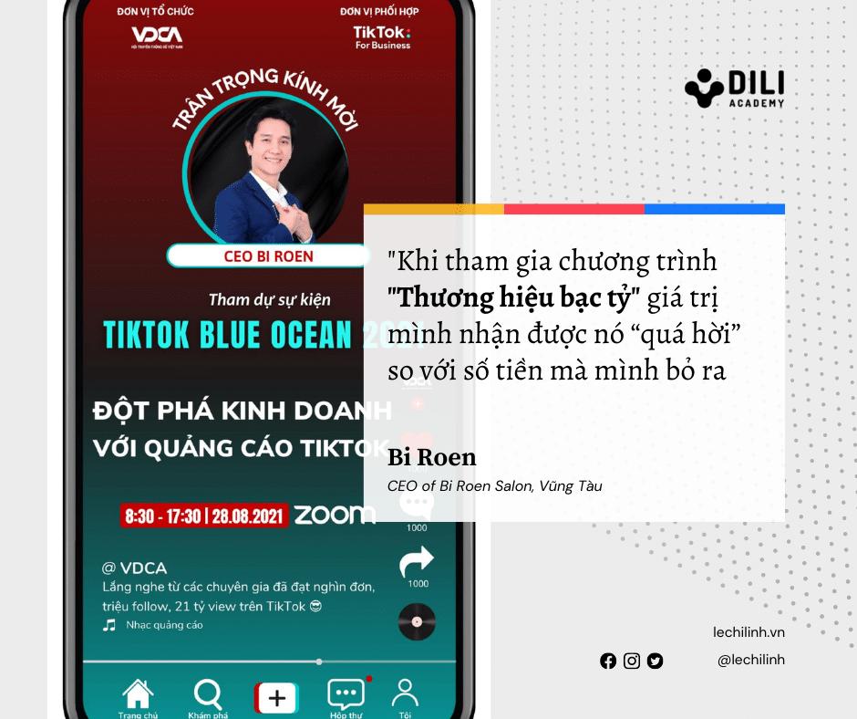 """Cảm nhận của Bi Roen sau chương trình """"Thương hiệu bạc tỷ"""" tại Dili"""