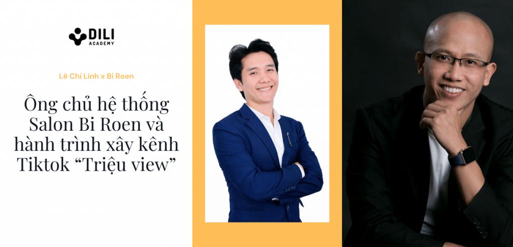 CEO hệ thống Salon tóc xây kênh Tiktok cùng Lê Chí Linh